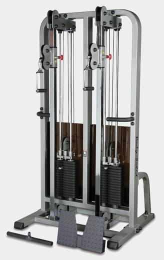 Сдвоенная блочная стойка Body-Solid ProClub SDC-2000G - Кроссоверы, артикул:5124