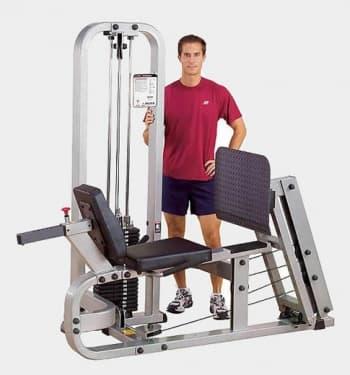 Горизонтальный жим ногами Body Solid ProClub SLP-500G - Со встроенными весами, артикул:9487