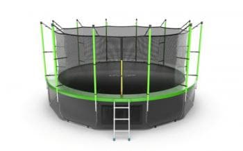 Батут Evo Jump Internal 16ft + Lower net (Green) - Разное, артикул:10808