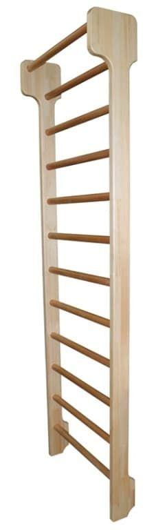 Деревянная шведская стенка люкс берёза 80х300 см - Деревянные , артикул:9663