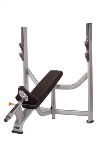 Олимпийская наклонная скамья AeroFit Professional Inotec Free Weight Line Е35 - Для жима штанги, артикул:10440