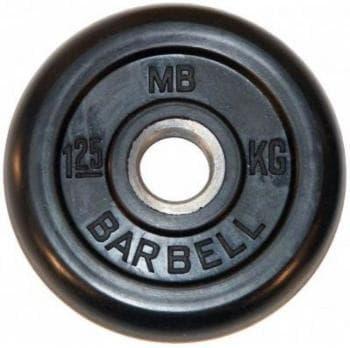 Диск МВ Barbell обрезиненный 26мм  1.25кг - Штанги и диски, артикул:9583