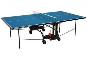 Теннисный стол Donic Outdoor Roller 600 синий - Теннисные столы всепогодные, артикул:6308