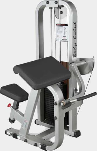 Бицепс-машина Body Solid ProClub SBC-600 - Со встроенными весами, артикул:9498