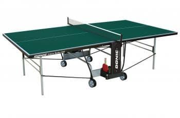Теннисный стол Donic Indoor Roller 800 зеленый - Теннисные столы для помещений, артикул:6266