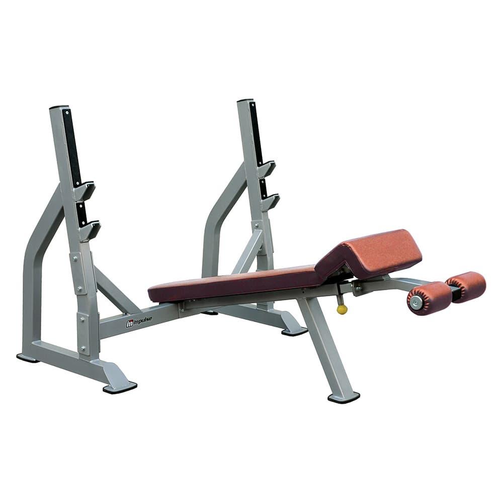 Олимпийская скамья для жима лежа Aerofit IFODB - Для жима штанги, артикул:5361