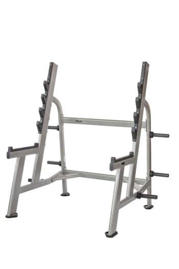 Олимпийская стойка для приседаний со штангой AeroFit Professional Inotec Free Weight Line Е45 - Для жима штанги, артикул:10450