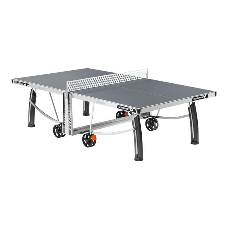 Теннисный стол Cornilleau 540M Crossover Outdoor (серый) антивандальный - Теннисные столы всепогодные, артикул:1103