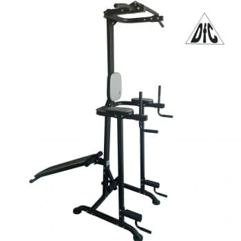 Тренажер Multi Power Basic Trainer со скамьей DFC VT-7005 - Турник-пресс-брусья, артикул:6845