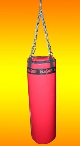 Мешок боксерский класс КМС 25см высота 80см, цвет: красный - Боксерские груши, артикул:9743