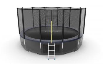 Батут Evo Jump External 16ft (Blue) + Lower net - , артикул:10775