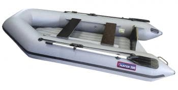 Надувная лодка Хантер 290 ЛН серый - Хантер, артикул:6250