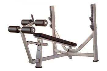 Олимпийская скамья с отрицательным наклоном AeroFit Professional Inotec Free Weight Line Е36 - Для жима штанги, артикул:10441