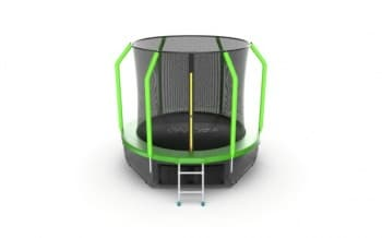 Батут Evo Jumo Cosmo 8ft (Green) + Lower net - Разное, артикул:10780