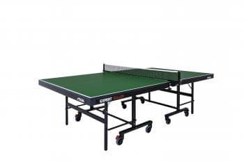 Теннисный стол Stiga Expert Roller зеленый - Теннисные столы для помещений, артикул:6333