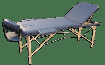 Складной массажный стол Oxygen Ecoline 100 синий - Массажные столы, артикул:7313
