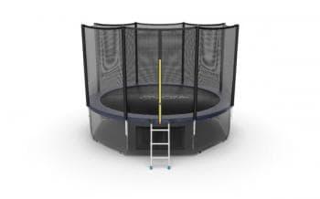Батут Evo Jump External 12ft (Blue) + Lower net - , артикул:10772