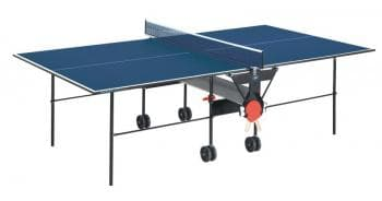 Складной теннисный стол Sunflex Hobbyplay blue - Теннисные столы для помещений, артикул:6125