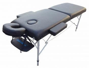 Складной массажный стол Optifit Royal черный - Массажные столы, артикул:7334