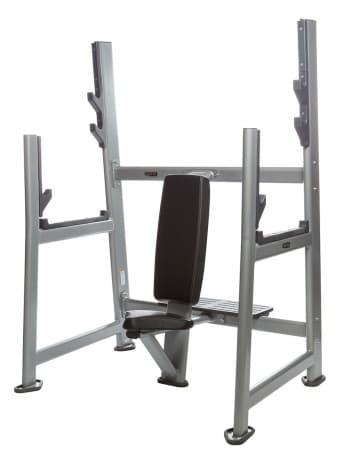 Олимпийская скамья для армейского жима AeroFit Professional Inotec Free Weight Line Е44 - Для жима штанги, артикул:10449