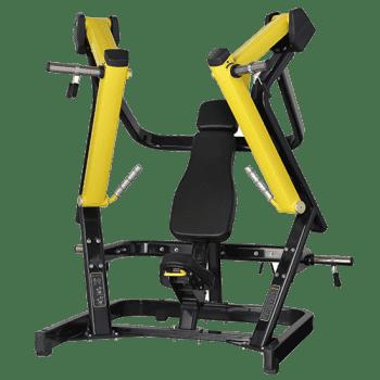 Жим от груди широкий Bronze Gym XA-05 - Со встроенными весами, артикул:8430