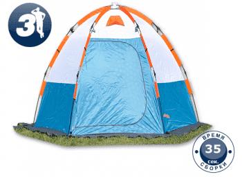 Палатка для зимней рыбалки World of Maverick ICE 5 blue - Палатки, артикул:8100