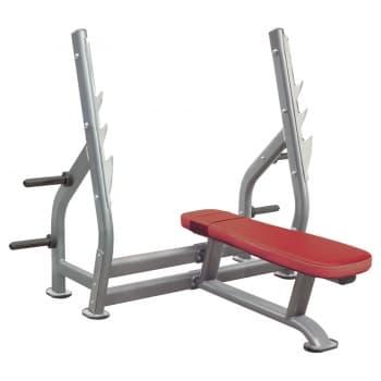Олимпийская горизонтальная скамья AeroFit Professional Impulse Techno IT7014 - Для жима штанги, артикул:10305