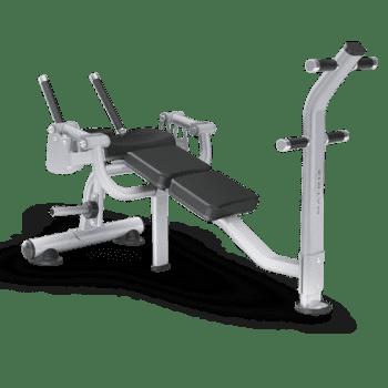 Скамья для скручивания Matrix Magnum MG-PL50 - Для пресса, артикул:9279