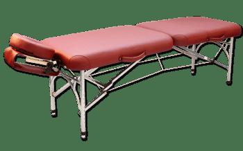 Складной массажный стол Vision Apollo Ultralite бордовый - Массажные столы, артикул:7361