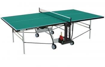 Теннисный стол Donic Outdoor Roller 800 зеленый - Теннисные столы всепогодные, артикул:6312
