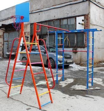 ДСК Дача  АП цвет красный - Уличное оборудование, артикул:7207