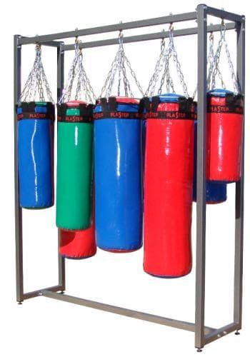 Мешок боксерский класс Мастер 30см высота 120см, цвет: синий - Боксерские груши, артикул:9723