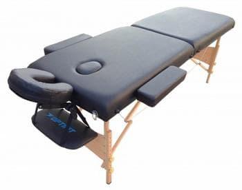 Складной массажный стол Optifit Belleza черный - Массажные столы, артикул:7331