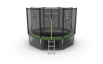 Батут Evo Jump External 12ft (Green) + Lower net - , артикул:10771