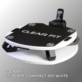 Виброплатформа Clear Fit CF-PLATE Compact 201 WHITE - Виброплатформы, артикул:6776