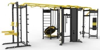 Kомплекс для функциональных тренировок AeroFit Professional Impulse Zone IZ-X shape - Функциональный тренинг и кроссфит, артикул:10382