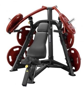Наклонный жим от груди со сведением AeroFit Professional PLIP - Со свободными весами, артикул:10334