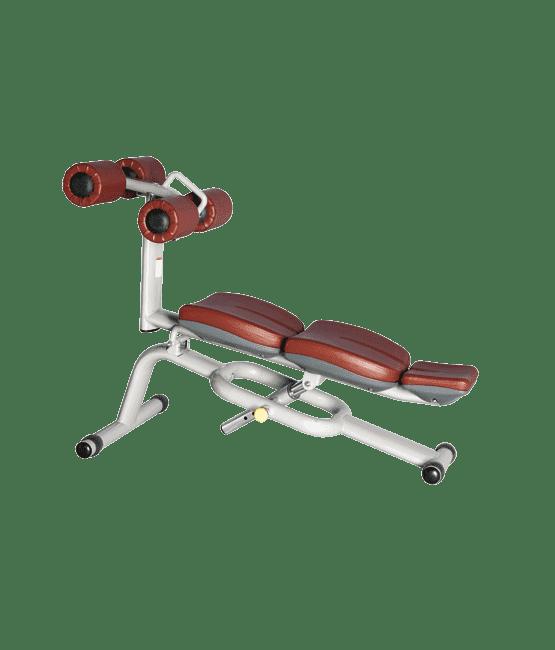 Скамья для пресса регулируемая Bronze Gym H-034A - Для пресса, артикул:5180