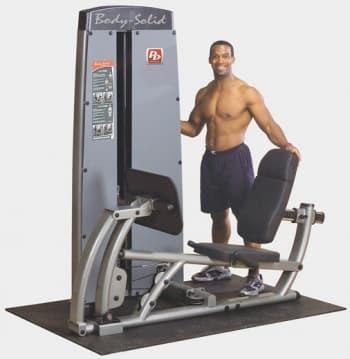Жим ногами Body-Solid Pro-Dual DCLP-SF - Со встроенными весами, артикул:9512