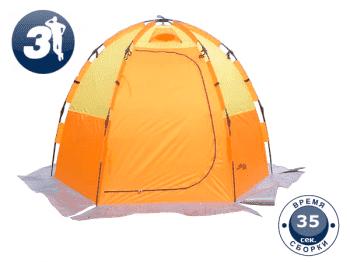 Палатка для зимней рыбалки World of Maverick ICE 5 orange - Палатки, артикул:8101