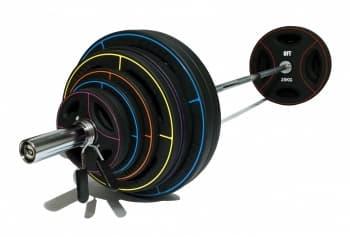 Штанга олимпийская 180 кг (диски-TPU) - Штанги и диски, артикул:9479