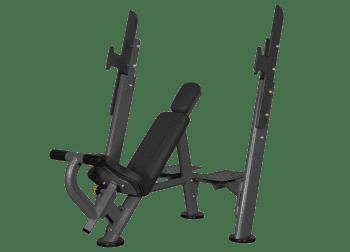 Скамья для жима с положительным наклоном Spirit Fitness AFB101 - Для жима штанги, артикул:6937