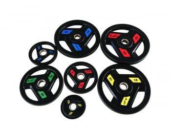 Диск Aerofit обрезиненный 50мм  10кг - Штанги и диски, артикул:9555