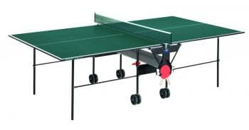 Складной теннисный стол Sunflex Hobbyplay green - Теннисные столы для помещений, артикул:6126