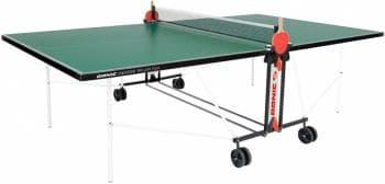 Теннисный Donic Indoor Roller FUN зеленый - Теннисные столы для помещений, артикул:6259