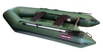 Надувная лодка Хантер 290 ЛН зеленый - Хантер, артикул:6249