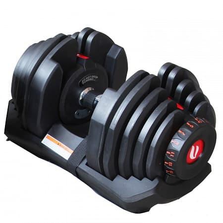 Регулируемая гантель Optima 40 кг - Гантели, артикул:3681