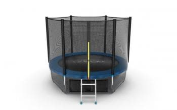 Батут Evo Jump External 8ft (Blue) + Lower net - , артикул:10766