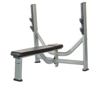 Олимпийская горизонтальная скамья AeroFit Professional Inotec Free Weight Line Е32 - Для жима штанги, артикул:10436