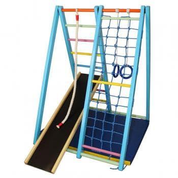 ДСК Малютка 140 см цвет синий  радуга - Напольные, артикул:6047
